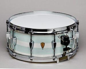 Corian-Koenig 14x6.0' Snare - White/ Seafoam Green